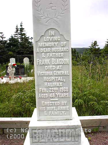 Coomb's Cove New Anglican Cemetery