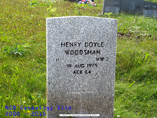 newfoundland u0026 39 s grand banks genealogy site - shoal cove west rc curch cemetery