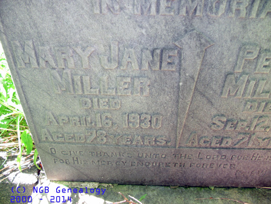 Newfoundland's Grand Banks Genealogy Site - Portugal Cove St. Peters Anglican Cemetery - St ...